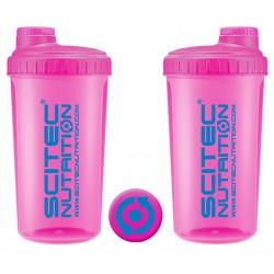 Scitec Nutrition šejkr 700 ml Neon růžový