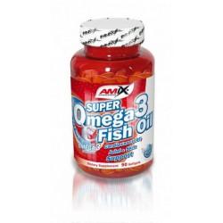 Amix Super Omega 3 Fish Oil 1000 mg 90 kapslí