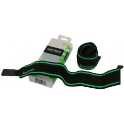 MadMax Elastická bandáž na zápěstí black/green
