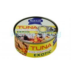 Tuňák kousky se zeleninou EXOTIC 170g Nekton