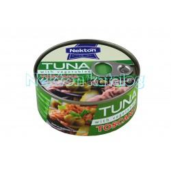 Tuňák kousky se zeleninou TOSCANA 170g Nekton