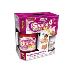 Amix nutrition Shake 4 Fit&Slim 1000g +dárek