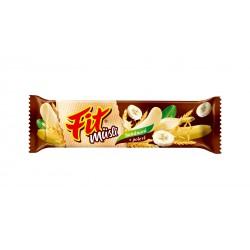 Tyčinka Fit müsli banán/čokoláda 30g