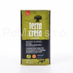 EXTRA VIRGIN olivový olej TERRA CRETA 1l