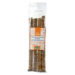 Tyčinky špaldové sypané lněným semínkem BIOLINIE 60g