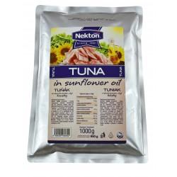 Tuňák v rostlinném oleji Nekton, kousky 1kg