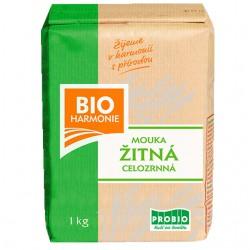 Žitná mouka celozrnná (jemně mletá) 1kg