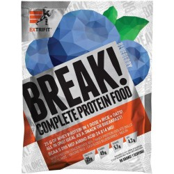 Extrifit Break! Protein Food 90 g - borůvka