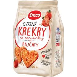 Emco Ovesné krekry s rajčaty 100 g