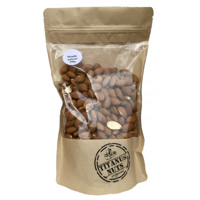 Titanus nuts - Mandle Natural 500g
