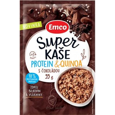 Super kaše Protein & quinoa s čokoládou 55g