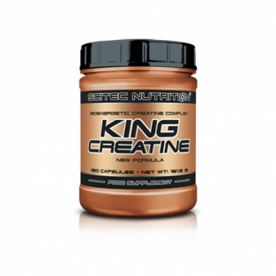 Scitec Nutrition KING Creatine - 120 caps.