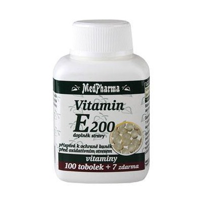 MedPharma Vitamin E 200 mg, 107 tablet