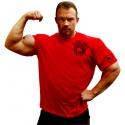 Bizon Gym Triko 225 - červená