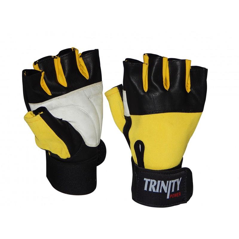 ecb5a0a88 ... rukavice>Fitness Rukavice Trinity s omotávkou. Obrázek · Obrázek  Obrázek (1)