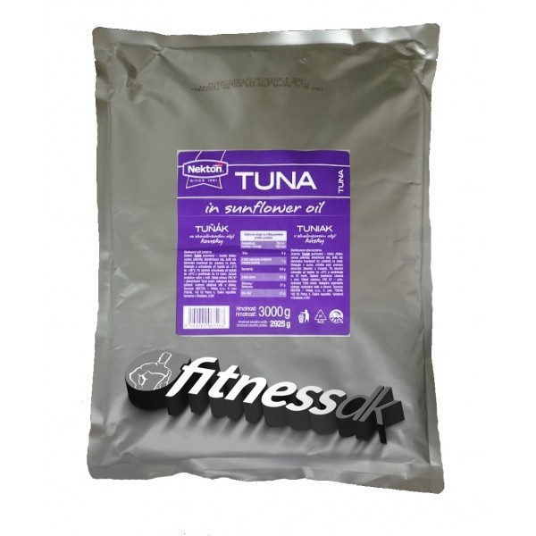 Nekton - Tuňák ve slunečnicovém oleji, kousky 3kg