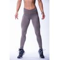 Nebbia High waist scrunch butt legíny 604 - moka