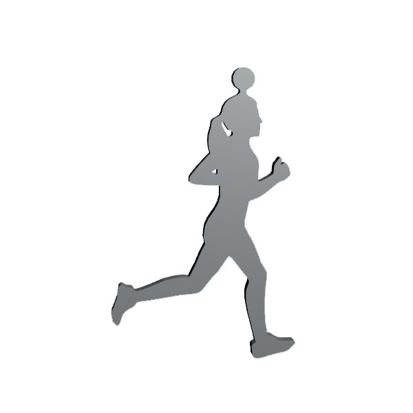 TITANUS klíčenka běžec