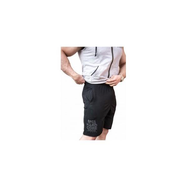 Nebbia HardCore Fitness Šortky 344 - černá