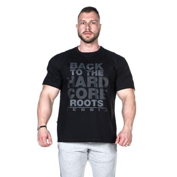 Nebbia - HardCore tričko 391 - černá