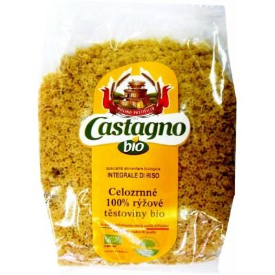 Celozrnné 100% rýžové těstoviny (Stelline) CASTAGNO 500g