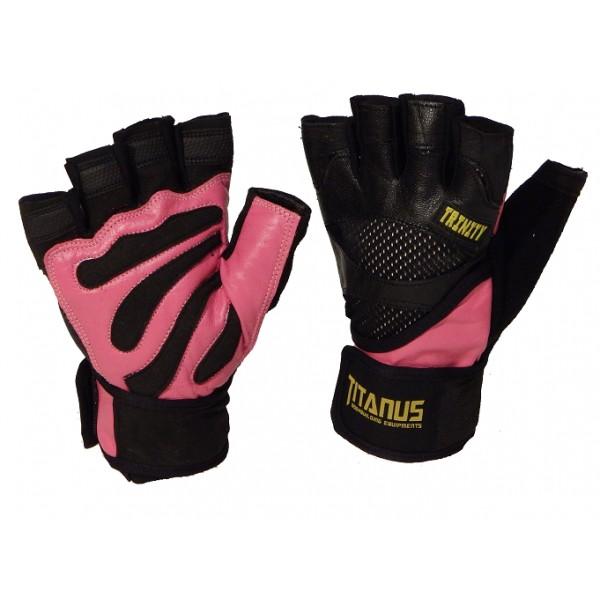 TITANUS rukavice Trinity (růžová)