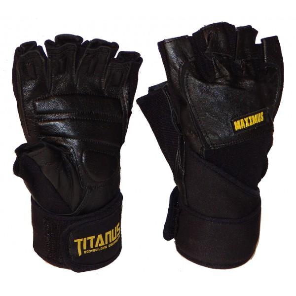 TITANUS rukavice Maximus s omotávkou