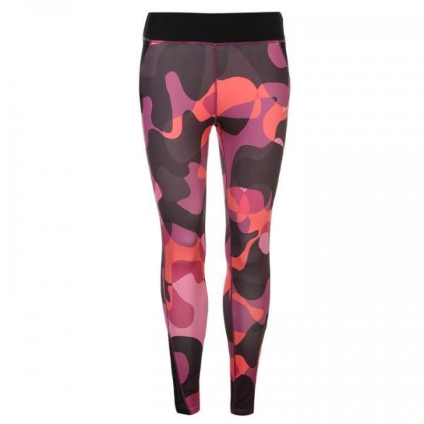 USA Pro Graphic Leggings - Pink Camo