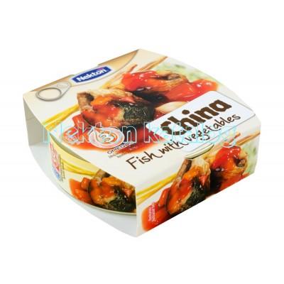 Opečená ryby china