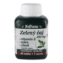 MedPharma Zelený čaj 200 mg + vitamin E + selen + zinek, 67 tablet