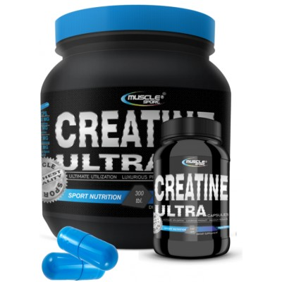 Muscle Sport Creatine Ultra cap 470mg - 300 kapslí.