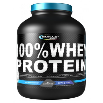 Muscle Sport 100 % Whey Protein 2270 g.