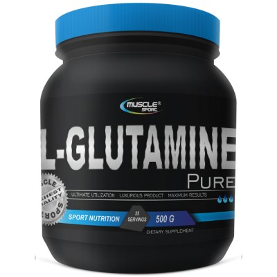 MuscleSport L-GLUTAMINE PURE 500 g