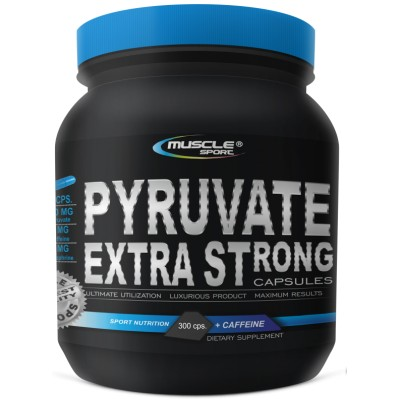 Muscle Sport Pyruvate Extra Strong 900 mg 300 kapslí.