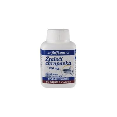 MedPharma Žraločí chrupavka 700 mg, 67 kapslí