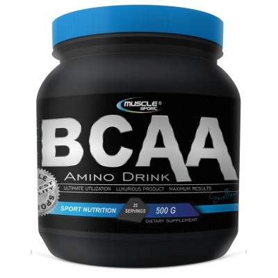 MuscleSport  Amino Drink BCAA 500 g