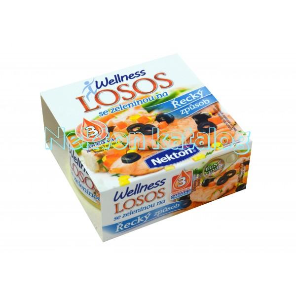 Nekton - Losos se zeleninou na řecký způsob 170 g.