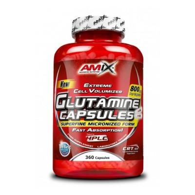 Amix L-Glutamine 360 kapslí.