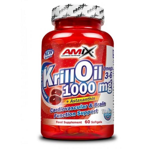 Amix™ Krill Oil 1000. 60 kapslí.