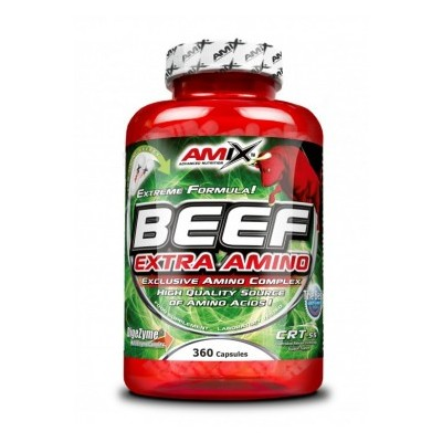 Amix Beef Extra Amino 198 kapslí.