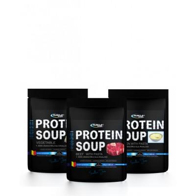 Muscle Sport Protein soup 60 g kuřecí.