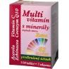 Multivitamín s minerály obsahuje 42 složek, které jsou nezbytné k růstu lidského těla, zachování vitality a celkově dobré kondice.