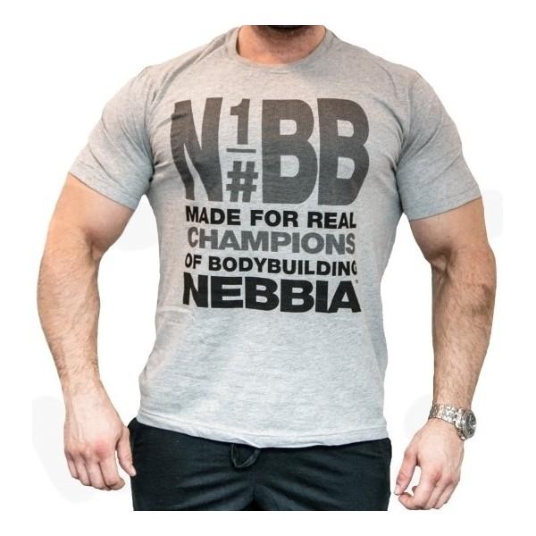 Nebbia Top Bodybuilding 990 šedé