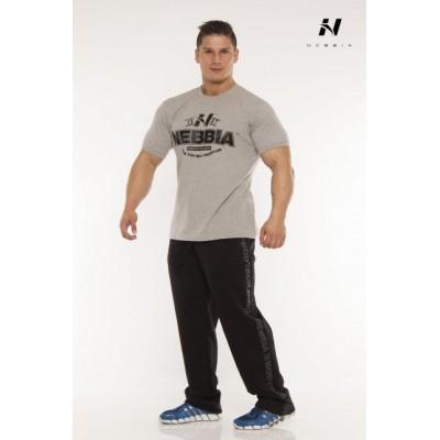 Nebbia Tričko Fitness 925 (černá)