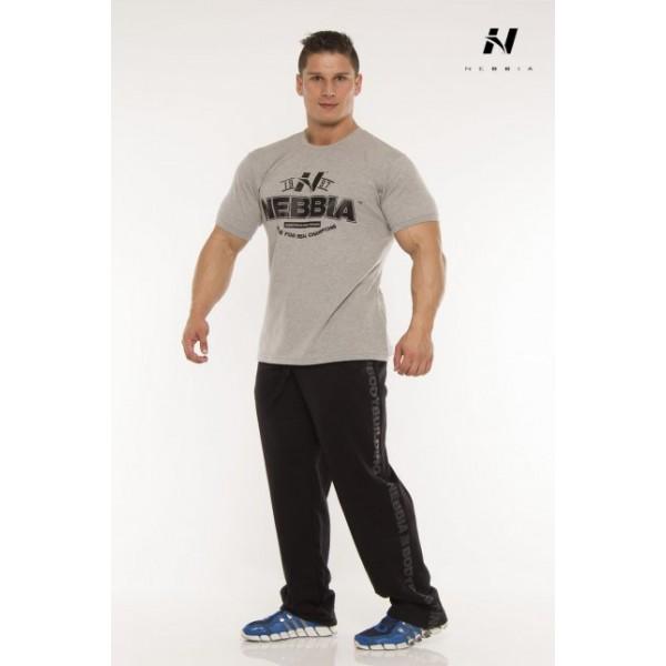 Nebbia Tričko Fitness 925 - šedá
