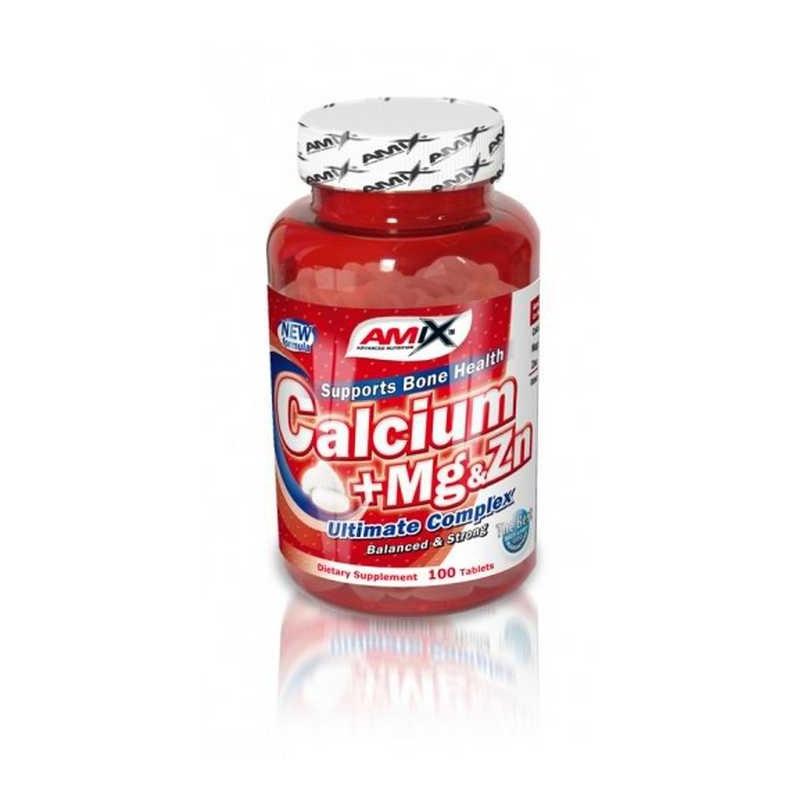 Výsledek obrázku pro Amix Calcium + Magnesium + Zinek 100 tbl