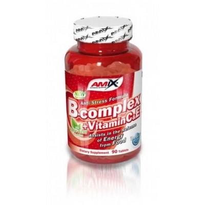 Amix nutrition B-Complex + vit.C tbl.