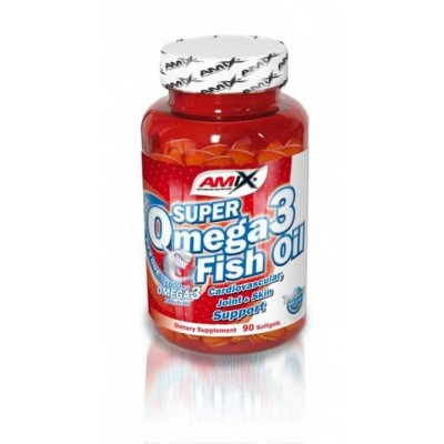 Amix Super Omega 3 Fish Oil 1000 mg 90 kapslí.