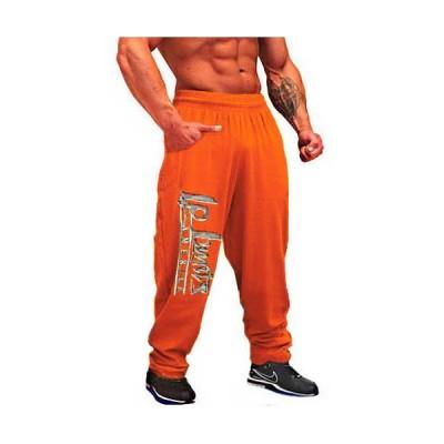 LEGAL POWER Kalhoty s potiskem 6202-892 Oranžové