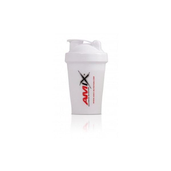 Amix Nutrition Amix šejkr Color 400 ml - bílá.